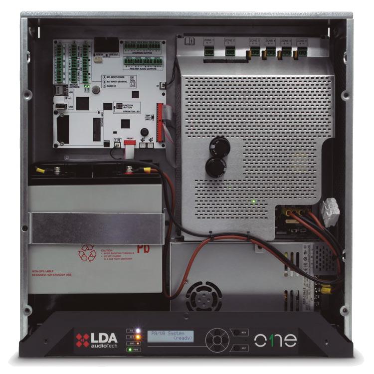 Sistema di evacuazione vocale e diffusore sonora - Phoebus ONE